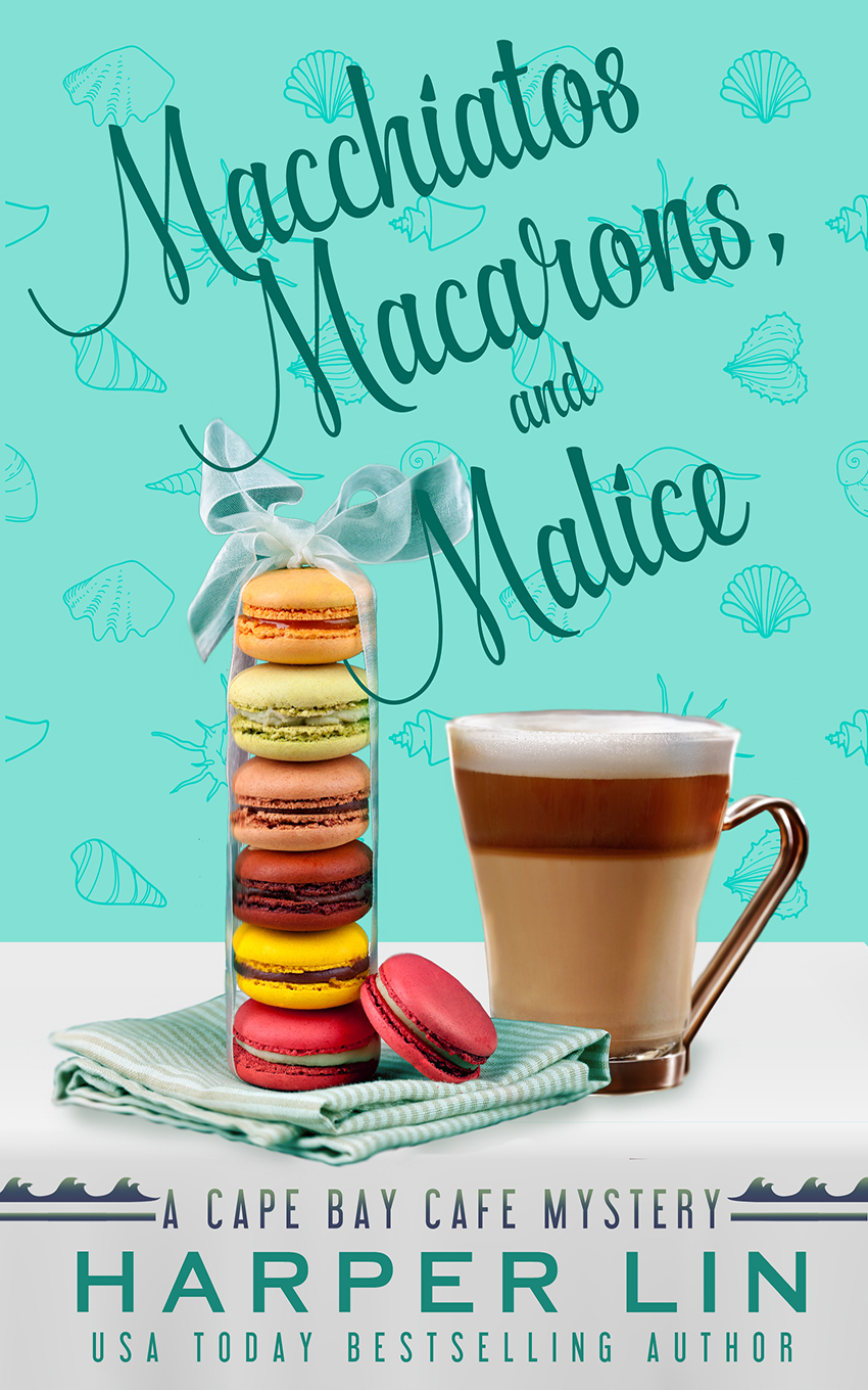 Book 1 2015 Cappuccinos, Cupcakes, and a Corpse - A Cape Bay Cafe Mystery by Harper Lin