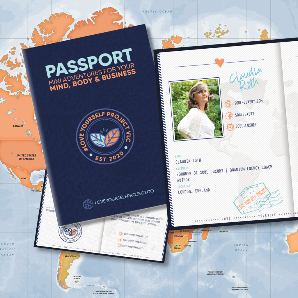 Claudia Roth LOVE Yourself Project Passport